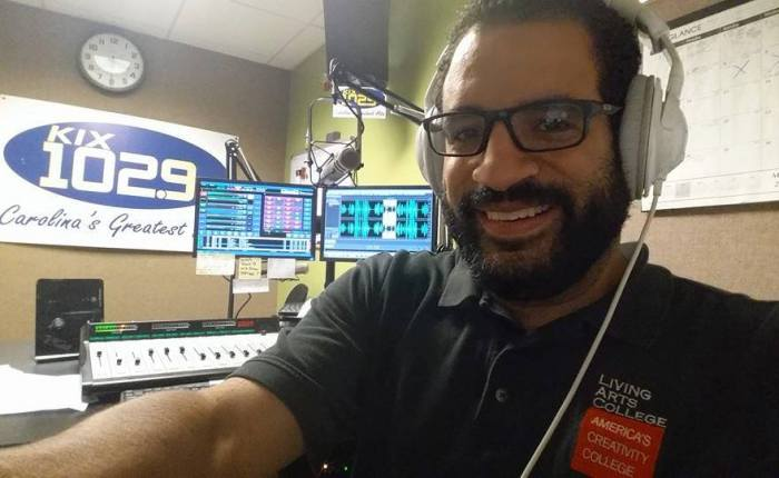 AUDIO GRADUATE WORKS AT KIX 102.9